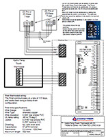 rs zs t stat wiring diagram and connection instructions for protostar and zs thermostats